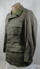Zweedse gabardine  uniform jas  - WO2 Duits model - origineel