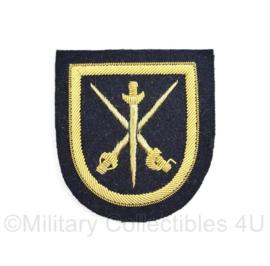 Koninklijke Marine arm embleem - luxe versie met metaaldraad - 6,5 x 6 cm- origineel
