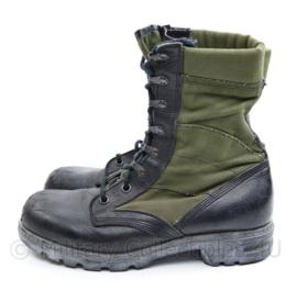 KL jungle boots met extra inlegzolen 275S = 43,5 Smal - groen / zwart -  gedragen - origineel