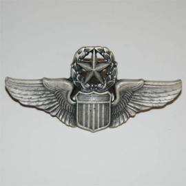 US Airforce Master Commanding Pilot wing - 3 inch