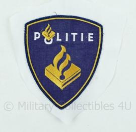 Nederlands huidig regiopolitie embleem op overhemd stof -  origineel