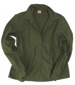 Dames blouse groen Wac - lange mouw - origineel