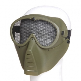 Airsoft Masker Full face - in groen