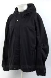 Regen en wind jack met capuchon zwart - merk Alpine Star Pro Cam-FIS nieuw gemaakt - maat XL