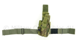 US Army en Korps Mariniers dropleg holster Eagle Industries US Woodland camo - origineel