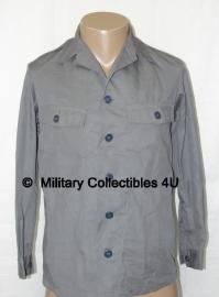 Klu Luchtmacht uniform Overhemd - grijs - origineel