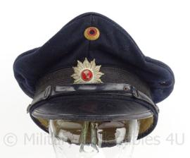 Duitse Bundespolizei pet - Bremen - maat 58 - maker: Heinrich Balke - origineel