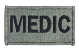 US Army Foliage patch - MEDIC - met klittenband - voor ACU camo uniform - 8,5 x 5 cm - origineel