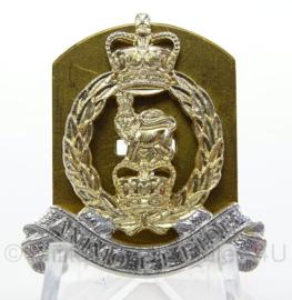 Britse leger enkele kraagspiegel - Adjutant General's Corps - lion facing left - afmeting 3 x 4 cm - origineel
