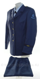 KLU Luchtmacht DT uniform SET dames - maat 42 - origineel