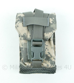 US Army MOLLE acu camo Utility pouch with mesh bottom - ONGEBRUIKT - origineel