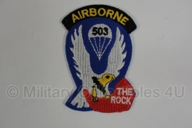 WWII US 503 Airborne 'The Rock' patch