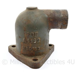 Wo2 US model Willys MB WOF motor Thermostat Housing A1192 - 9 x 12 x 3,5 cm - origineel