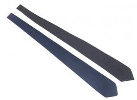 BW Leger stropdas - licht- of donkerblauw - origineel