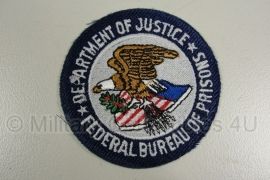 Department of Justice - Federal Bureau of Prisons patch - origineel