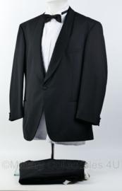 Heren kostuum jas , broek  en overhemd  - maat 52 - origineel