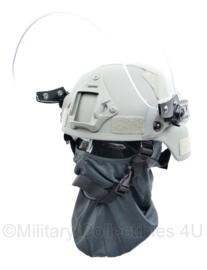 Politie en DSI MICH fast helm foliage grey  MET visier - replica