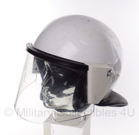Duitse ME helm / Mobiele Eenheid helm - WIT origineel