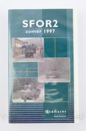 Videoband Koninklijke Marechaussee SFOR 2 zomer 1997 - origineel