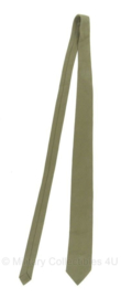 KL Nederlandse leger 1963-2000 model stropdas groen - origineel