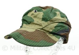 Korps Mariniers cap veldcamouflage Forest woodland camo - maat 58 cm.- NIEUW - origineel