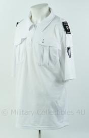 Handhaving overhemd wit korte mouw, gemeente Zoetermeer - maat 3XL- Origineel