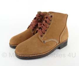 US schoenen - kort model WW2 US 'Rough Out' Ankle Boots