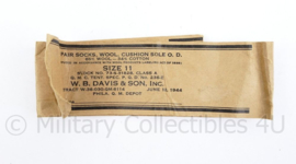 Wo2 US Army 1944 bindband van sokken - origineel