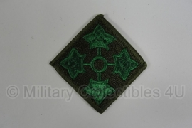 WWII US 4th Infantry Division patch - eigen aanmaak