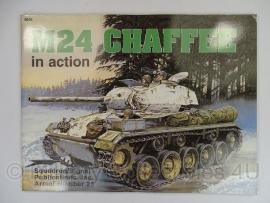 Armor Number 25 - M24 Chaffee tank  - licht gebruikt