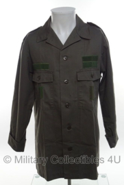 KLU Luchtmacht uniform overhemd - extra klittenband bevestigingen - lange mouw - maat 50/52 - origineel