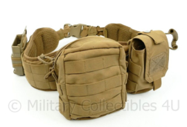 Warrior assault systems MOLLE belt incl. IFAK medic pouch wapenriem, magazijntas en universele tas Coyote - 106 x 10 x 3 cm - origineel