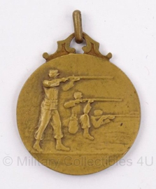 Belgische medaille challenge de la nation belge cercle l'avenir 1923 - doorsnede 3 cm - origineel
