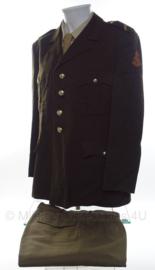KL DT jas en broek set rang Sergeant  - 1986 - maat 56K - origineel