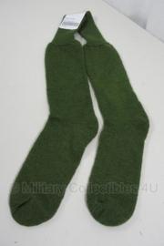 KL Nederlandse leger sokken Mannen, Koud Weer GROEN - maat Medium of Large - licht gebruikt - origineel