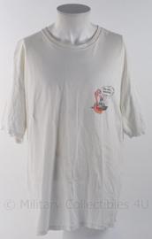"""KM Koninklijke Marine shirt van de """"west reis 2009"""" - gebruikt - maat L - origineel"""