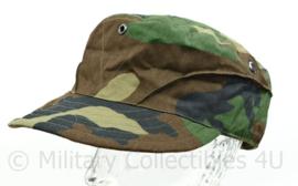 Korps Mariniers cap veldcamouflage Forest woodland camo - maat 59 cm - NIEUW - Hassing BV - origineel