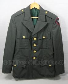 US Army uitgaans uniform met insignes - maat 40R/ NL maat 50 - origineel US Army