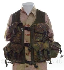 KL Nederlandse leger assault vest met vaste tassen - DPM camo - merk Arktis - maat XL - origineel