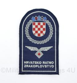 Kroatisch embleem hrvatsko Ratno Zwakoplovstvo luchtmacht   - origineel