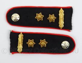 KL Landmacht GLT Gala Tenue schouder epauletten - Luitenant Kolonel - afmeting 15 x 6 cm - origineel