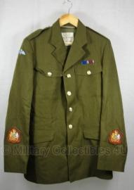 Britse uniform jas - Airborne - 182 / 100 - Serg. Major - origineel