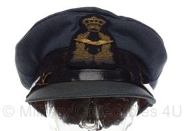 KLU Koninklijke Luchtmacht platte pet Embroidered versie! - hoofdofficier - maat 56 - origineel