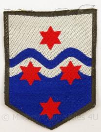 KL Landmacht arm embleem Nationaal Logistiek Commando - voor DT1963-2000 - afmeting 5 x 7 cm - origineel