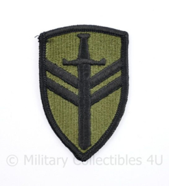 US Army 2nd Support Command patch Subdued - 7,5 x 5 cm - origineel
