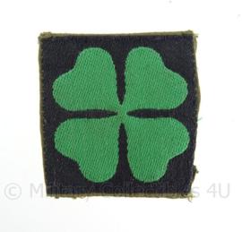 """KL eenheid DT embleem """"4de divisie"""" - 1963/2000 - origineel"""
