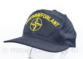 Baseball cap Nato en Koninklijke Luchtmacht Comstanavforlant - Standing Naval Force Atlantic - LARGE - NIEUW - origineel