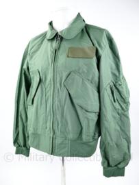 Klu Luchtmacht zomerjack Vliegeniersjas huidig model groen aramide - brandwerend - maat Small - nieuw - origineel