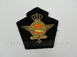 Klu luchtmacht pet insigne - officier - origineel