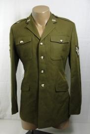 Britse Yorkshire uniform jas met insignes en medailles - maat 182 / 108 borst - Sergeant - origineel